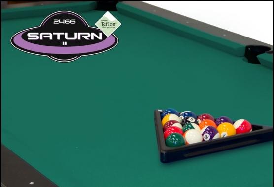 Champship Basic Green Saturn Pool Table