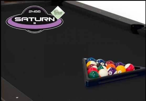 Black Championship Saturn Pool Table Clo