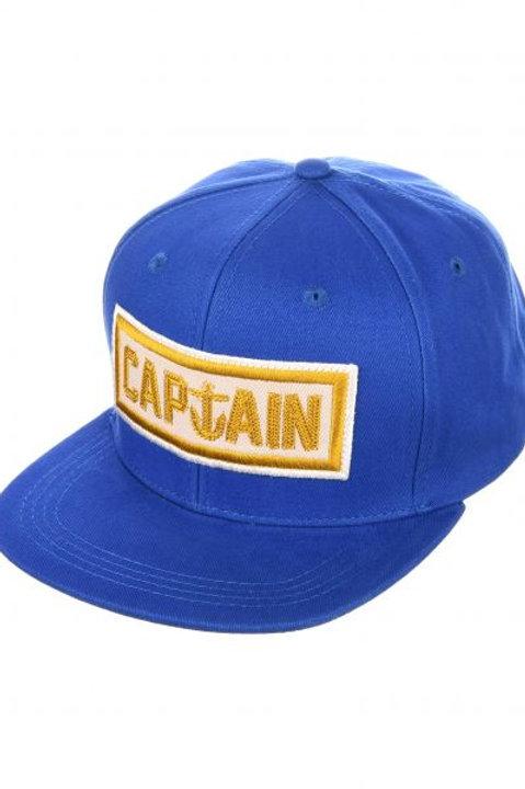 NAVAL BLUE HAT captain fin