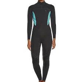 Ocean & Earth Ladies Wetsuit Steamer 3-2mm LS Back Zip