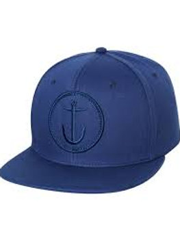 ANCHOR HAT BLUE CAPTAIN FIN