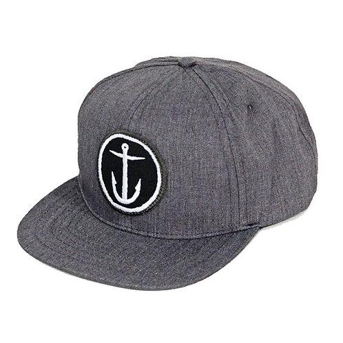 Anchor hat grey