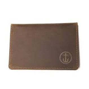 MOMENTO BIFOLD LEATHER WALLET BROWN