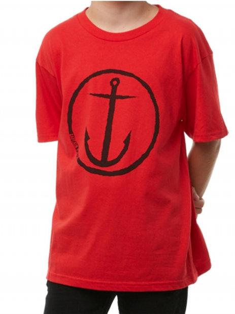 anchor tee red boys