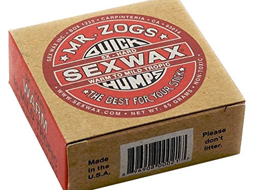 sex wax warm