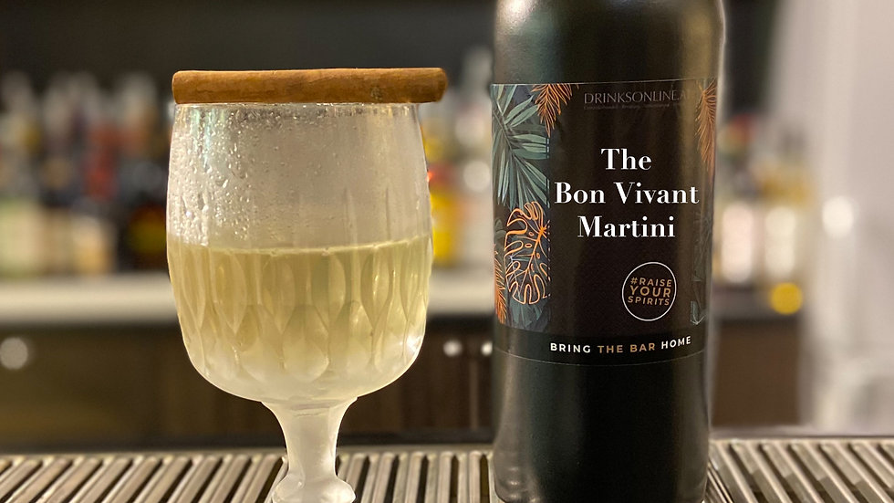 The Bon Vivant Martini