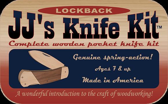 JJ's Lock Back Knife Kit - JJ4