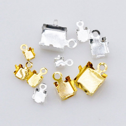 Connector for Rhinestones Trim - Silver or Gold