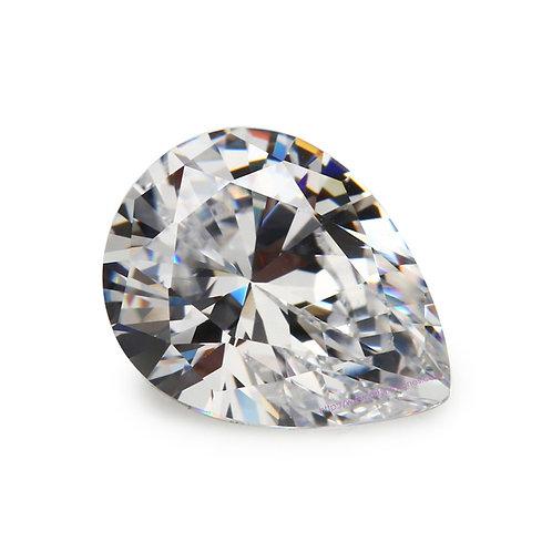 Pear Cubic Zirconia Loose Diamond AAAAA Grade
