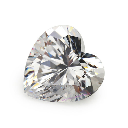 Heart Cubic Zirconia Loose Diamond AAAAA Grade
