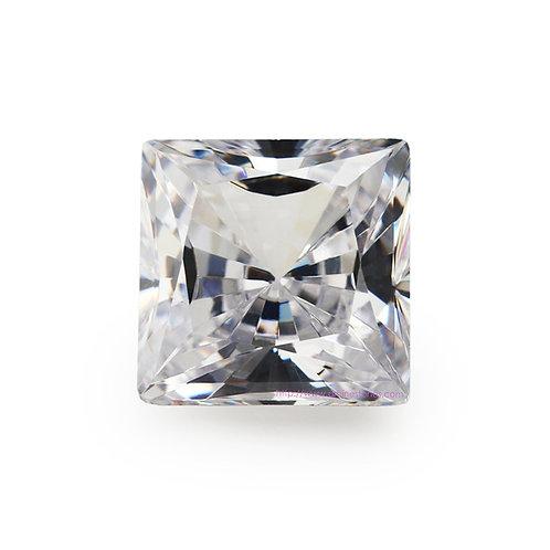 Princess Square Cubic Zirconia Loose Diamond AAAAA Grade