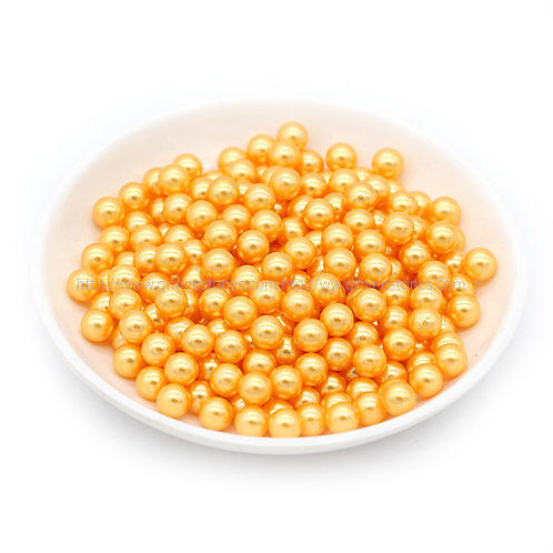 Vase Filler Pearls Golden Yellow 6mm / 8mm