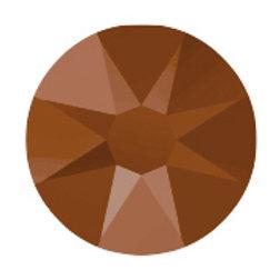 Flat Back Rhinestones - Metallic Rose Gold