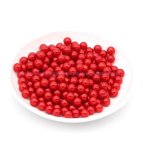 Vase Filler Pearls Red 6mm / 8mm