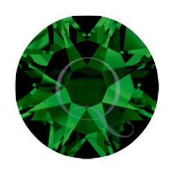 Flat Back Rhinestones - Emerald