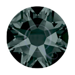 Flat Back Rhinestones - Black Diamond