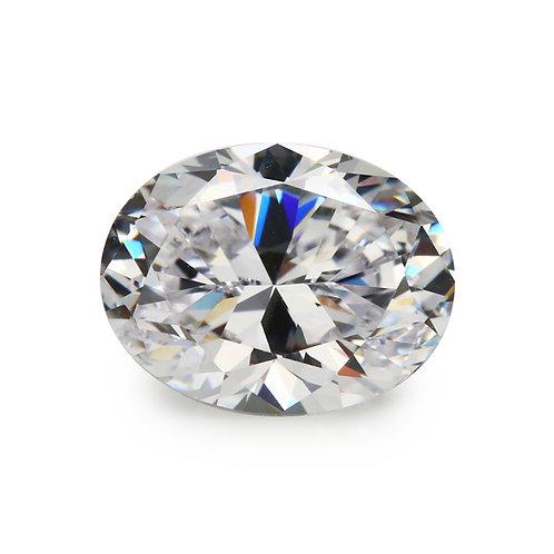 Oval Cubic Zirconia Loose Diamond Brilliant Cut AAAAA Grade