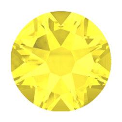 Yellow Citrine Rhinestones