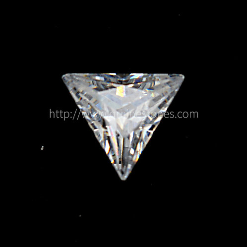 Triangle Cubic Zirconia Loose Diamond AAAAA Grade