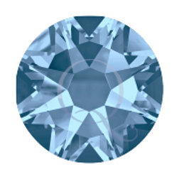 Flat Back Rhinestones - Light Sapphire
