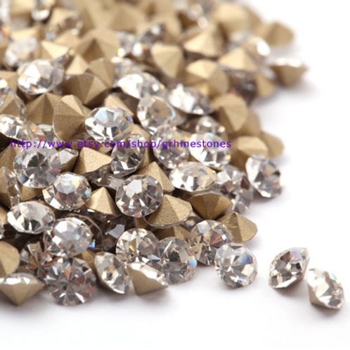 Pointed Back Rhinestones Chatons
