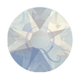 Flat Back Rhinestones -White Opal