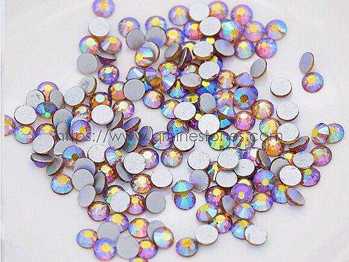 Wholesale pack for Colorado Topaz AB - Special Effect AB Flat Back Rhinestones