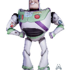 Balloon Airwalker Buzz Light Year