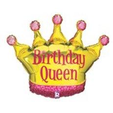 Balloon Super Shape Birthday Queen