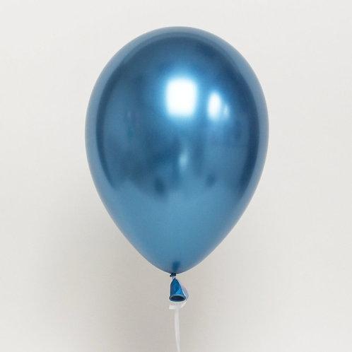 Helium balloon - Chrome Blue 12 inch