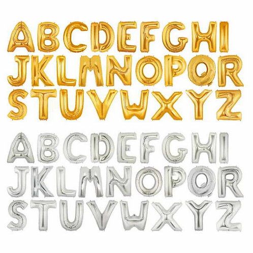 GOLD Alphabet Megaloon 40 inch