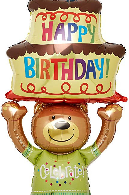 Balloon Airwalker Teddy Bear Cake
