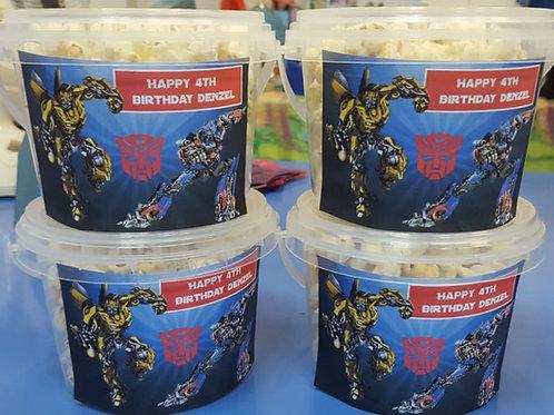Customised Cotton Candy/Popcorn Tub