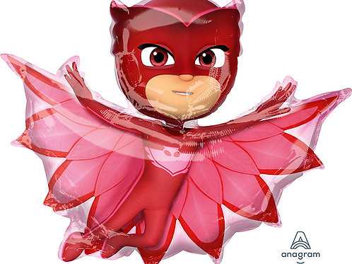 Balloon Super Shape PJ Mask Red