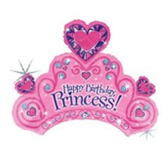 Balloon Super Shape Happy Birthday Princess