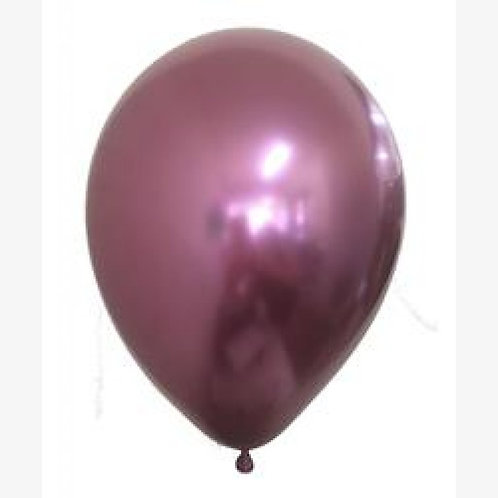 Helium balloon - Chrome Pink 12 inch