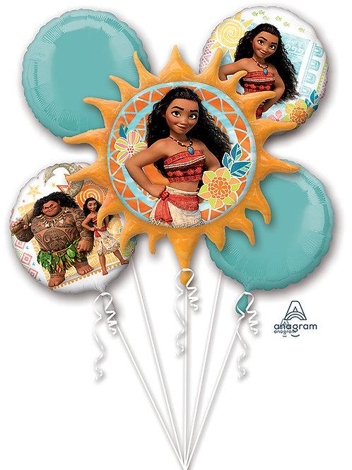 Balloon Bouquet Moana