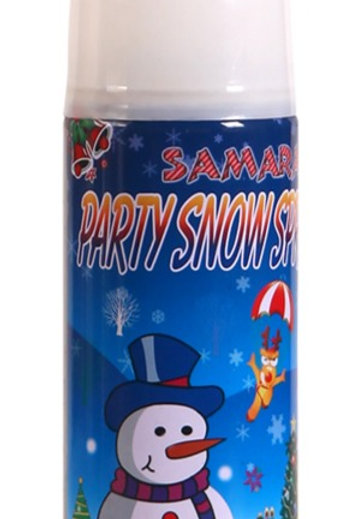 Christmas Party Snow Spray