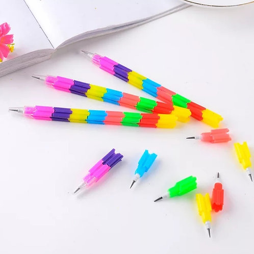 Multicolor Stacking Pencil