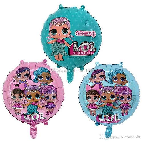 LOL SURPRISE foil balloons