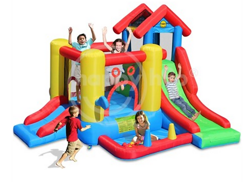 Bouncy Castle - 7 in 1 Fun House