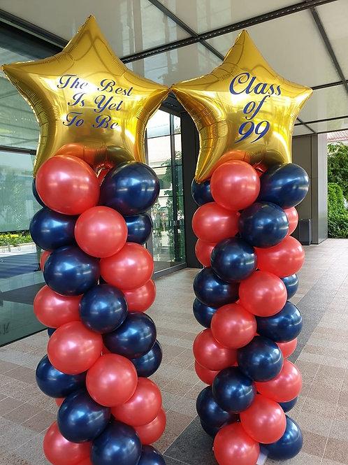 Balloon Columns With Customization