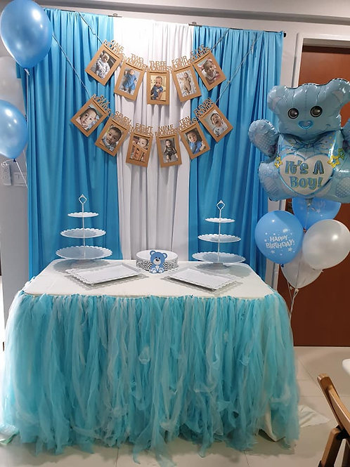 Decoration Service Cake Table Backdrop