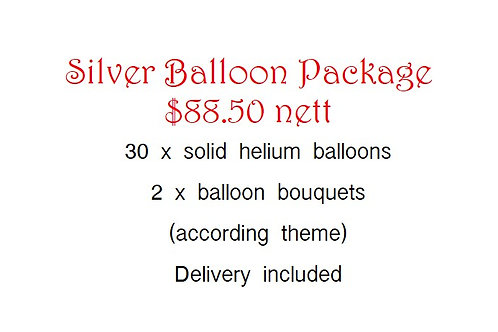 Balloon Package - Silver