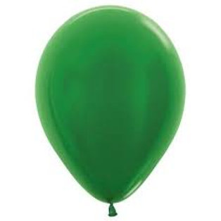 Helium Balloon - Pearl Emerald Green 12 inch