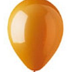 Helium balloon - Standard Orange 12 inch
