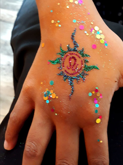 Event Services Glitter Tattoo