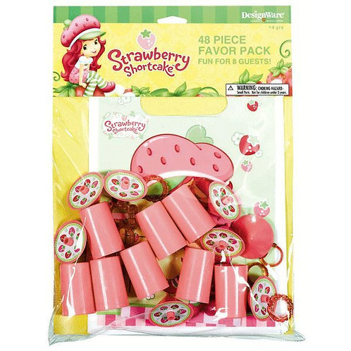 Strawberry Shortcake Party Favors Value Pack