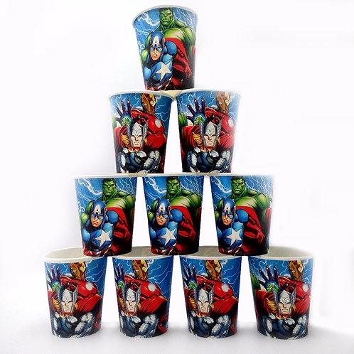 AVENGER paper cups