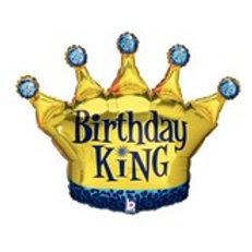 Balloon Super Shape Birthday King